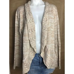 Kim Rogers open front cardigan xl